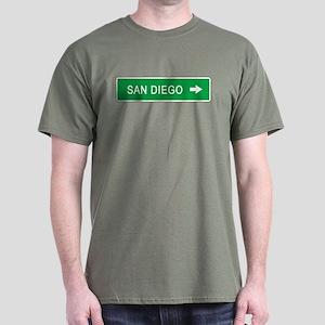 Roadmarker San Diego (CA) Dark T-Shirt