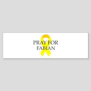 Pray for Fabian Bumper Sticker