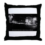 Hotel Selkirk (Night) Throw Pillow