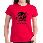 FRENCHIE Revolution! Women's Dark T-shirt