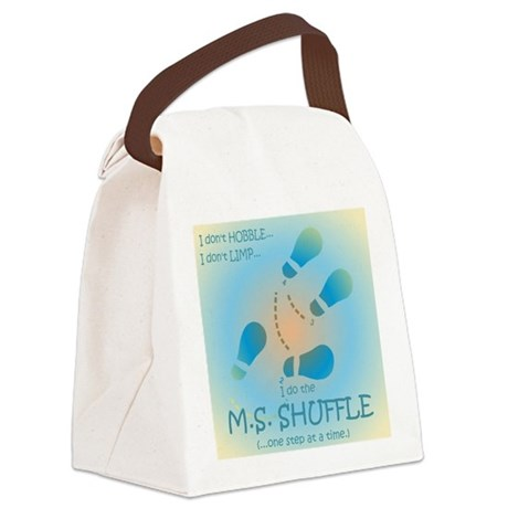 MS Shuffle Canvas Lunch Bag