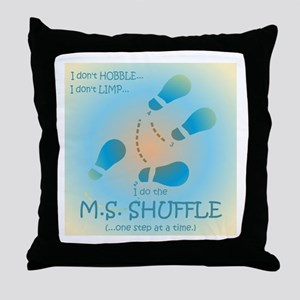 MS Shuffle Throw Pillow