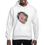 Camellia Japonica Hooded Sweatshirt
