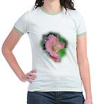 Camellia Japonica Jr. Ringer T-Shirt
