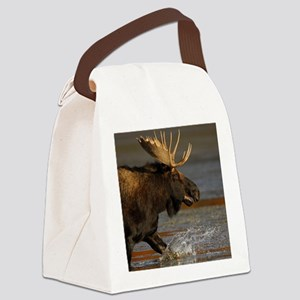 Bull Moose Canvas Lunch Bag