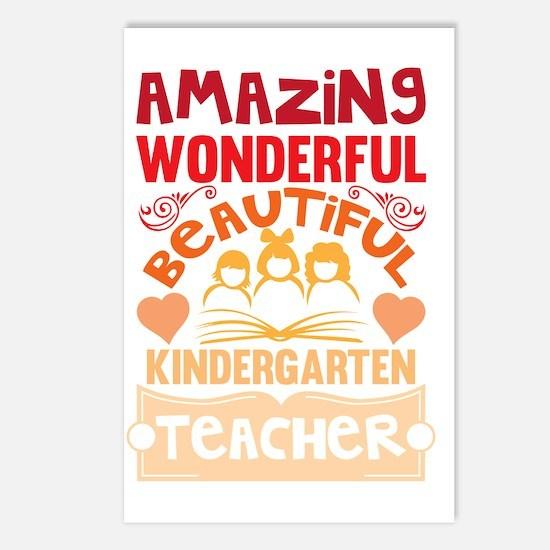 Cute Kindergarten Postcards (Package of 8)