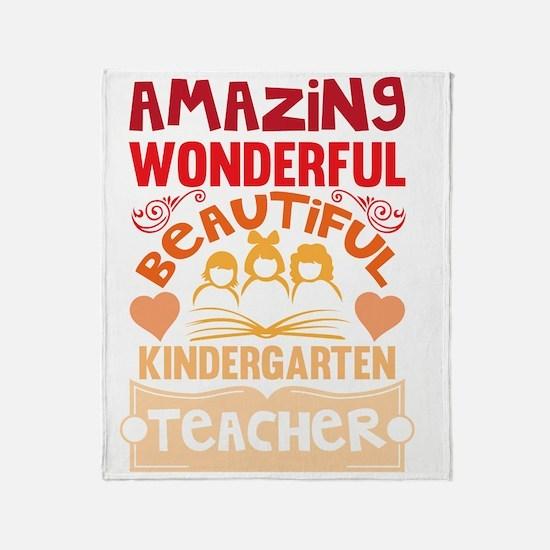 Cute Kindergarten Throw Blanket