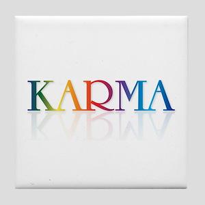 KARMA - Tile Coaster