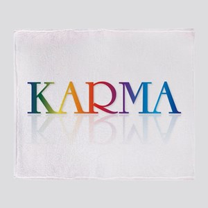 KARMA - Throw Blanket