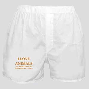 i love animals Boxer Shorts