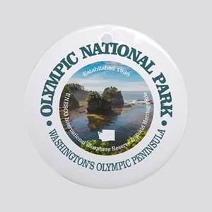Olympic National Park Round Ornament
