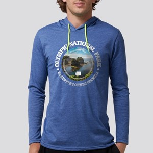 Olympic National Park Mens Hooded Shirt