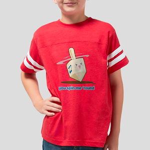 dreidel Youth Football Shirt