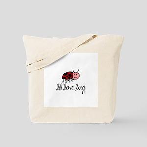 Lil Lady Bug Tote Bag