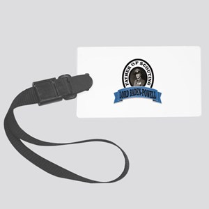 Father of scouts bp Large Luggage Tag
