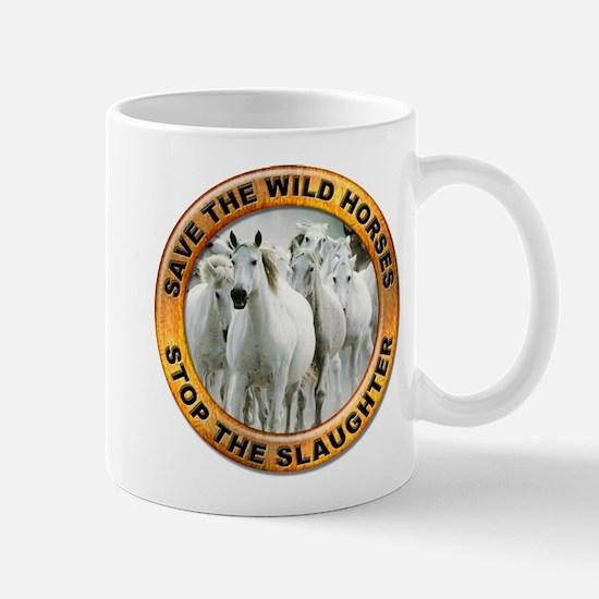 Save Wild Horses Mug