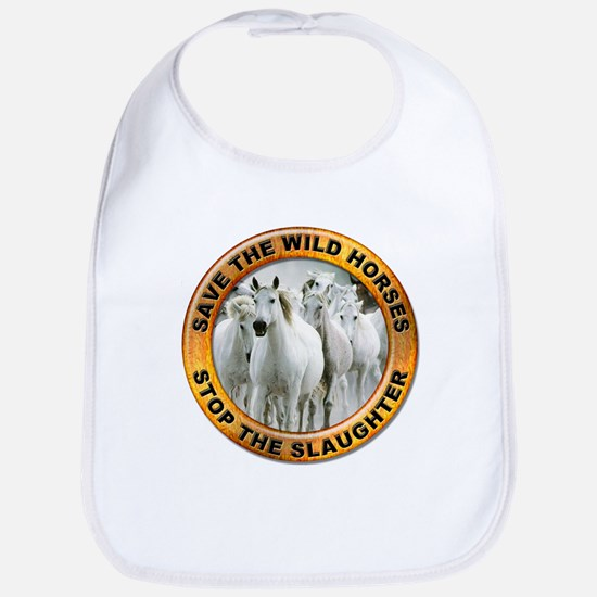 Save Wild Horses Bib