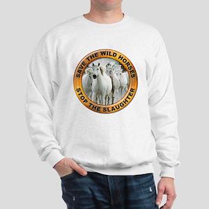 Save Wild Horses (Front) Sweatshirt