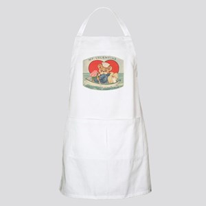 Sailor Bear Valentines BBQ Apron
