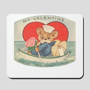 Sailor Bear Valentines Mousepad