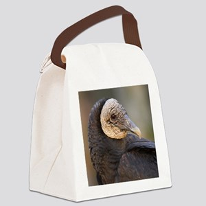 black vulture Canvas Lunch Bag