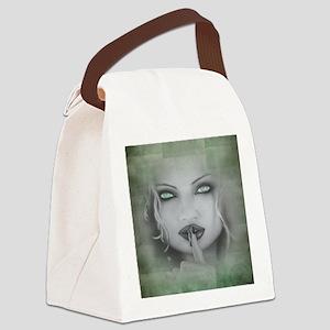 Shhhh Canvas Lunch Bag