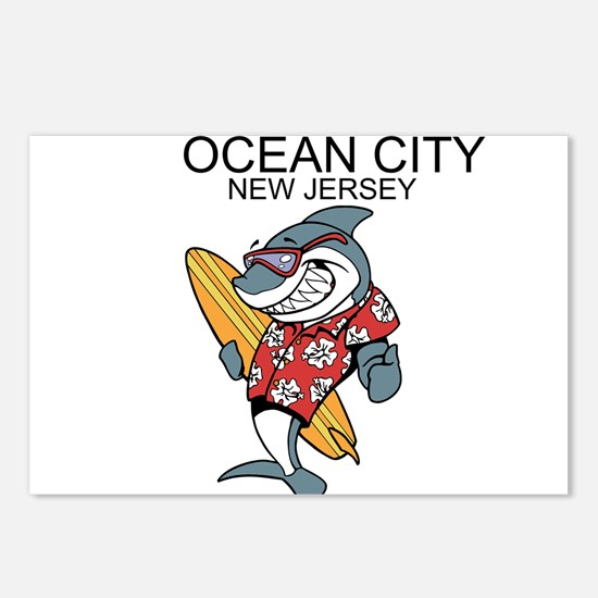 Ocean City, New Jersey Postcards (Package of 8)