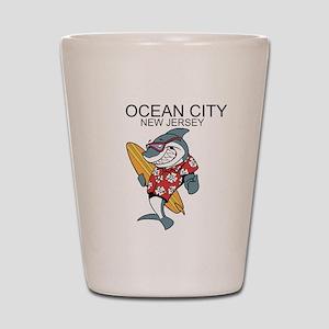 Ocean City, New Jersey Shot Glass