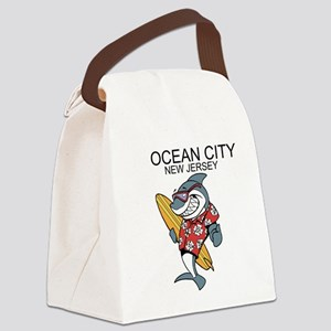 Ocean City, New Jersey Canvas Lunch Bag