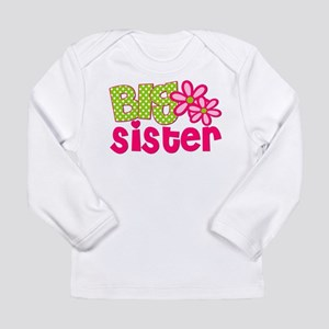 Big Sister Green Dot Long Sleeve T-Shirt