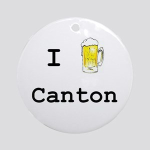 Canton Ornament (Round)