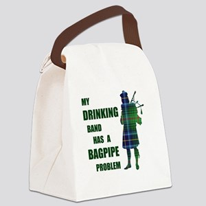 Bagpipe problem Canvas Lunch Bag