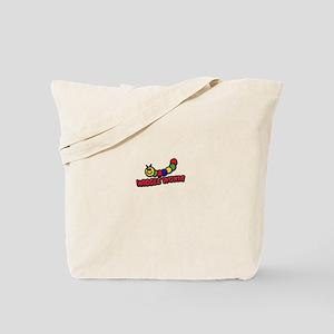 Wiggle Worm Tote Bag