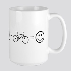 Mountain Bike Happiness Mugs