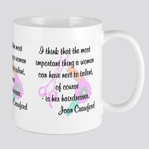 FUN HAIR QUOTE Mug