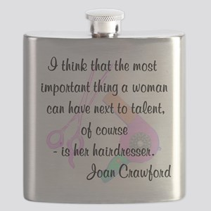 FUN HAIR QUOTE Flask