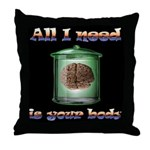 All i need is your body Throw Pillow