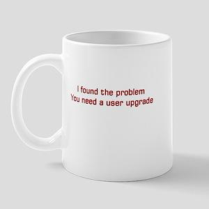 User Upgrade Mug
