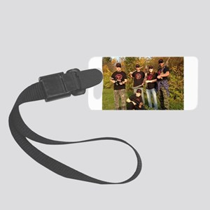 Zombie Outbreak Response Small Luggage Tag