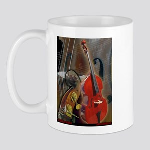 Upright Bass Art 1 Mug