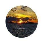 Wilfred Sykes Sunset Button