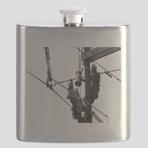 Hot Stick, Grayscale for Light Colored Items Flask