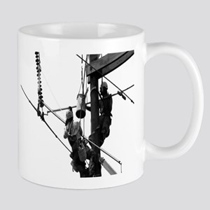 Hot Stick, Grayscale for Light Colored Items Mugs