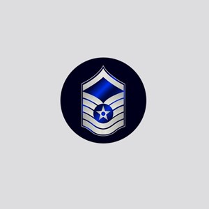 Air Force Master Sergeant Mini Button