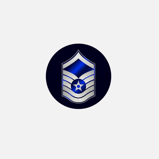 Air Force Master Sergeant Mini Button