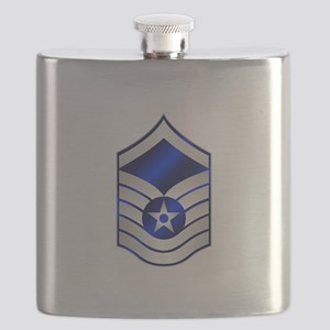 Air Force Master Sergeant Flask