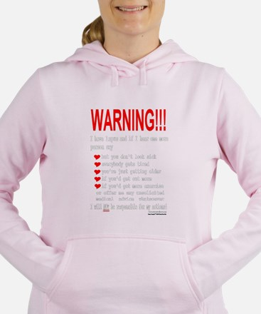 neg_lupus_warning Sweatshirt