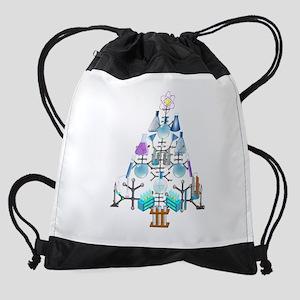 Oh Chemistry, Oh Chemist Tree Drawstring Bag