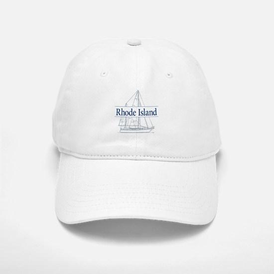 Rhode Island - Baseball Baseball Cap