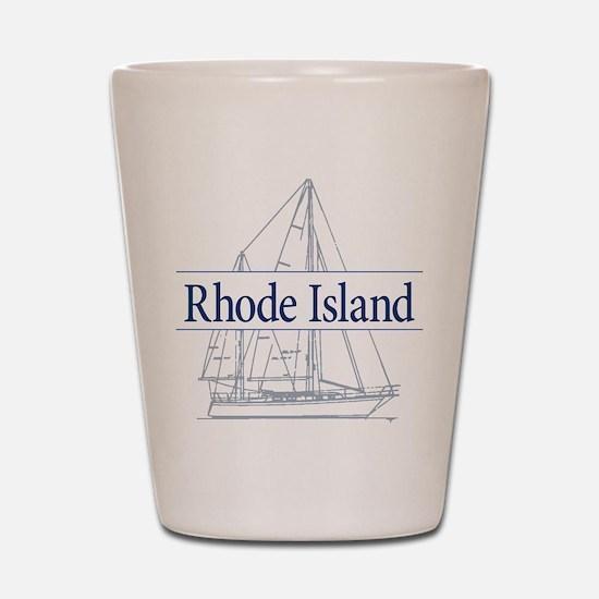 Rhode Island - Shot Glass